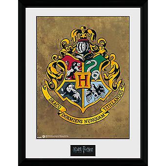 Harry Potter Poudlard encadrée Collector Print