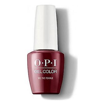 nail polish We The Female Opi Dark Red (15 ml)
