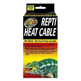 Zoo Med Repti Heat Cable - 50 watt (23'L)