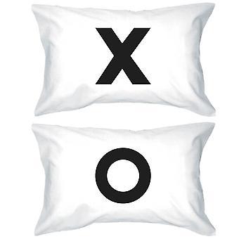 Dristig uttalelse Pillowcases 300-tråders Standard størrelse 20 x 31 - X O