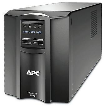 APC SMT1000IC, Linjeinteraktiv, 1 kVA, 700 W, Sinus, 151 V, 302 V