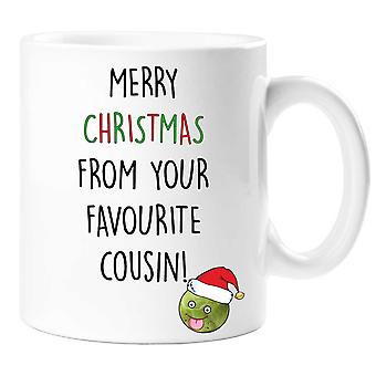 Merry Christmas From Your Favourite Cousin Mug