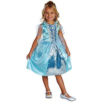 Prinsessa Tuhkimo Ella Classic Sparkle Disney tarina kirja viikko tyttöjen puku