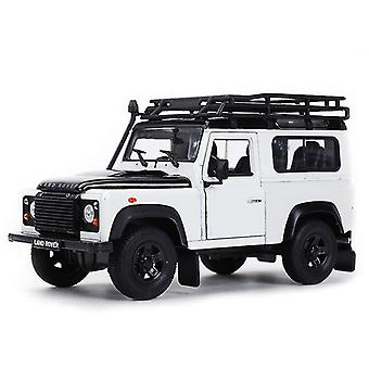 Toy cars 1:24 suv car static die cast vehicles collectible model car toys|diecasts toy vehicles white