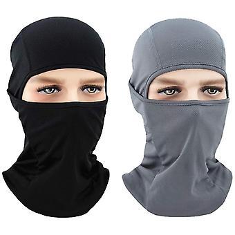 2pcs Outdoor Mask Sports Windproof Sunscreen Mask pour l'équitation en plein air