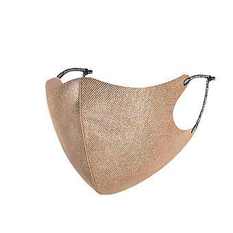1st munskydd för kvinnliga bomull ansiktsmask återanvändbara tvättbara justerbara masker