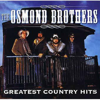 Osmond Brothers - Greatest Country Hits [CD] USA import