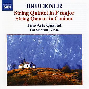 A. Bruckner - Bruckner: String Quintet in F Major; String Quartet in C Minor [CD] USA import