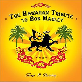 Tribute to Bob Marley - Keep It Burning: Hawaiian Tribute to Bob Marley [CD] USA import