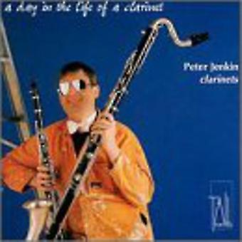 Peter Jenkin - A Day in the Life of a Clarinet [CD] USA import