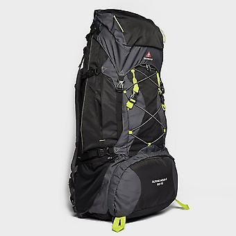 Nouvelles techniques Alpine Aqua Ii 80-10 Litre Sac de voyage sac à dos noir