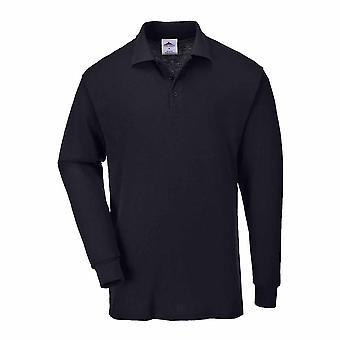 Praca Portwest na co-dzień - Genua z długim rękawem Koszulka Polo