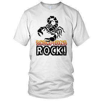 Skorpioner Rock insekt elsker Mens T-skjorte