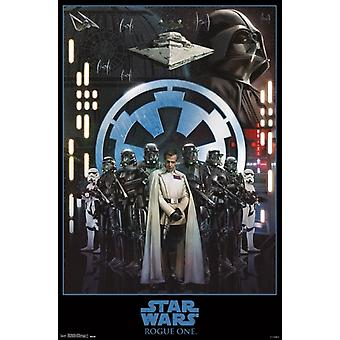 Star Wars Rogue One - Empire affiche Poster Print