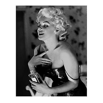 Marilyn Monroe - Chanel No 5 Poster trykk av Ed Feingersh (16 x 20)
