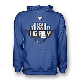 Italy Country Logo Hoody (blue) - Kids