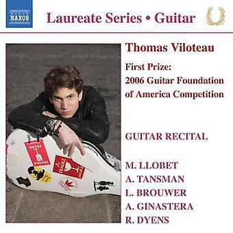 Thomas Viloteau: Guitar Recital - Guitar Recital [CD] USA import