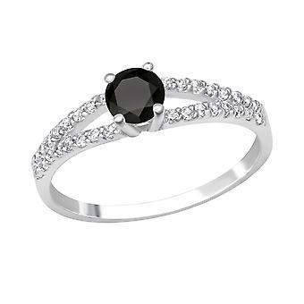 Tondo - argento 925 gioiello anelli - W27904X