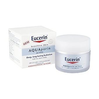 Eucerin AQUAporin ACTIVE com SPF 25 e protecção UVA