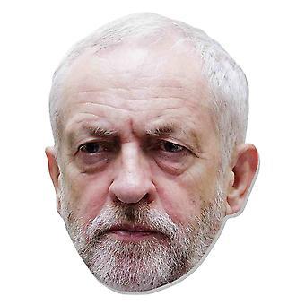 Jeremy Corbyn British Politician 2D Card Party Fancy Dress Mask