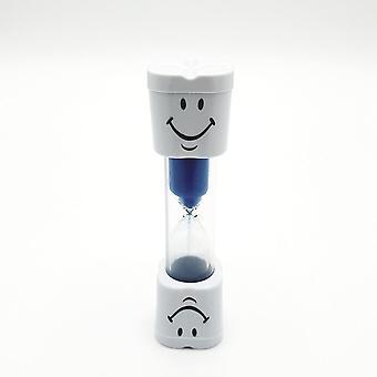 Różowy/niebieski klepsydra 3 minuty dla dzieci Timer szczotkowanie zębów