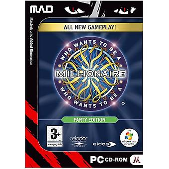 Who Wants To Be A Millionaire Party Edition (PC CD) - Factory Sealed