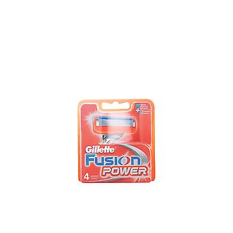 Gillette Fusion Power Cargador 4 Recambios für Männer