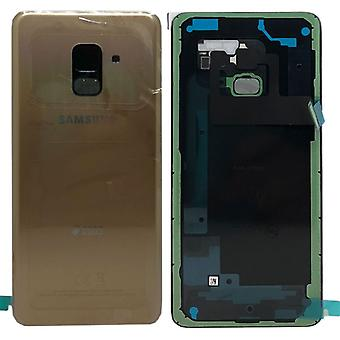 Samsung GH82-15557C battery cover cover for Galaxy A8 A530F 2018 + adhesive pad gold