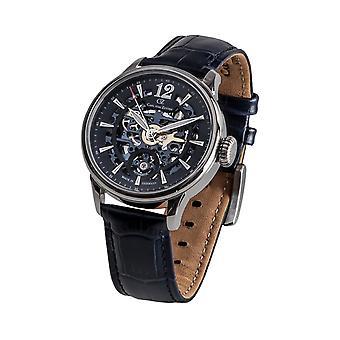 Carl av Zeyten män klocka armbandsur automatic Enz CVZ0051BL