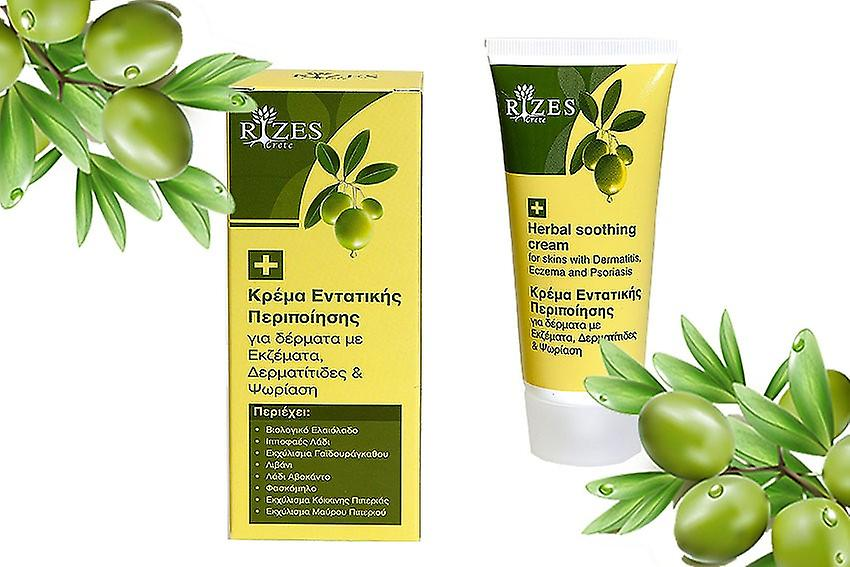 Herbal soothing cream for skins with Dermatitis, Eczema and Psoriasis
