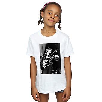 Дэвид Боуи девочек улыбаясь гитара футболку