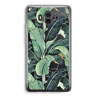 Huawei Mate 10 caso transparente (Soft) - folhas de Banana