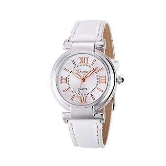 Ladies Girls Analogue Smart Rose Gold Silver Watch Watches Kids White Strap