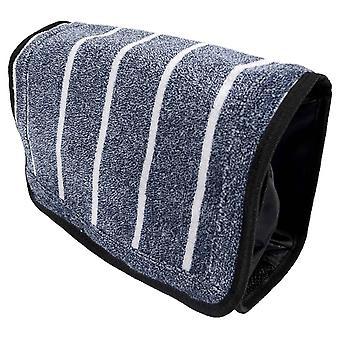 Bown of London Threadneedle Wash Bag - Light Blue/White