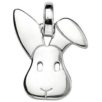 Begin Bunny hanger - zilver