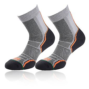1000 Mile Women's Trail Running Socks (Twin Pack) - SS21
