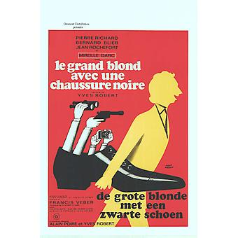 The Tall Blond Man with One Black Shoe Movie Poster (11 x 17)