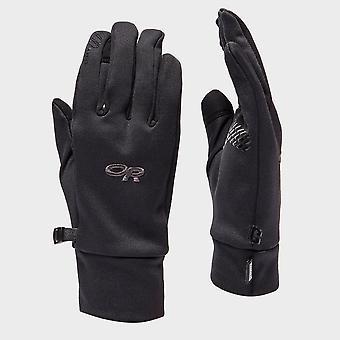 New Outdoor Research Men's PL100 Sensor Insulating Liner Gloves Black