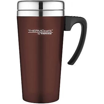Thermos Paprika  420ml ThermoCafe Soft Touch Travel Mug