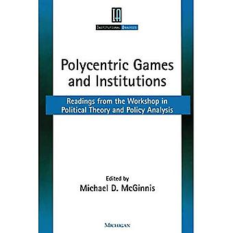 Polycentric games and institutions
