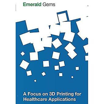 Fokus på 3D-utskrift för hälso-och applikationer (Emerald ädelstenar)