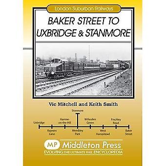Baker Street to Uxbridge and Stanmore