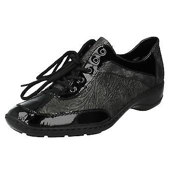Damskie Rieker zasznurować buty 58312