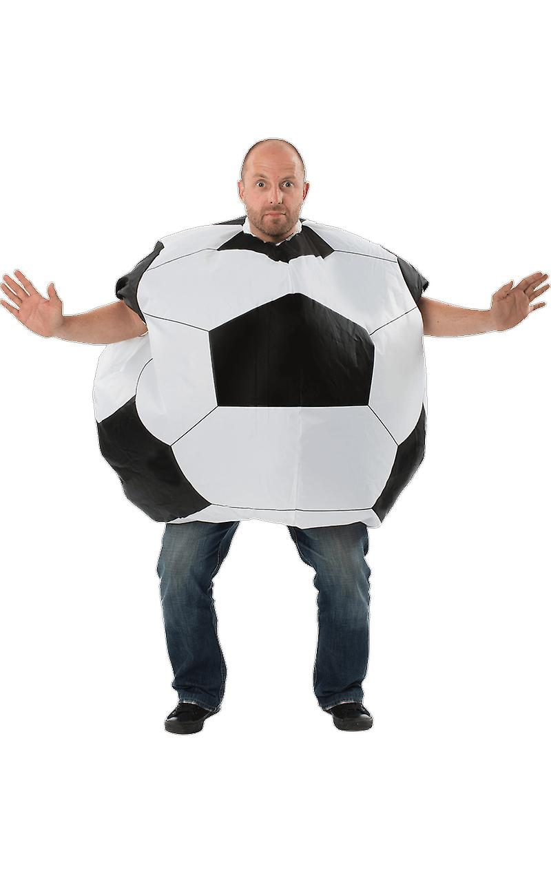 Mens Giant Inflatable Football Stag Do Sports Fancy Dress Costume