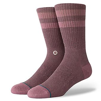 Stance Uncommon Solids Mens Socks ~ Joven rose smoke