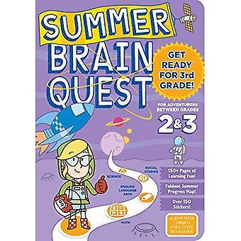 Quête de cerveau d'été: Entre les Grades 2 & 3 (été Brain Quest)