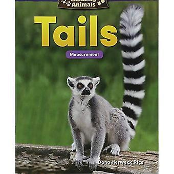 Verbazingwekkende dieren: Tails: meting (kleuterschool) (wiskunde lezers)
