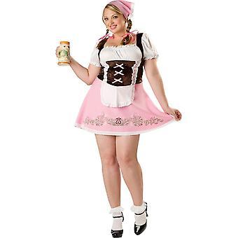 Pretty Fraulein Adult Plus Size Costume