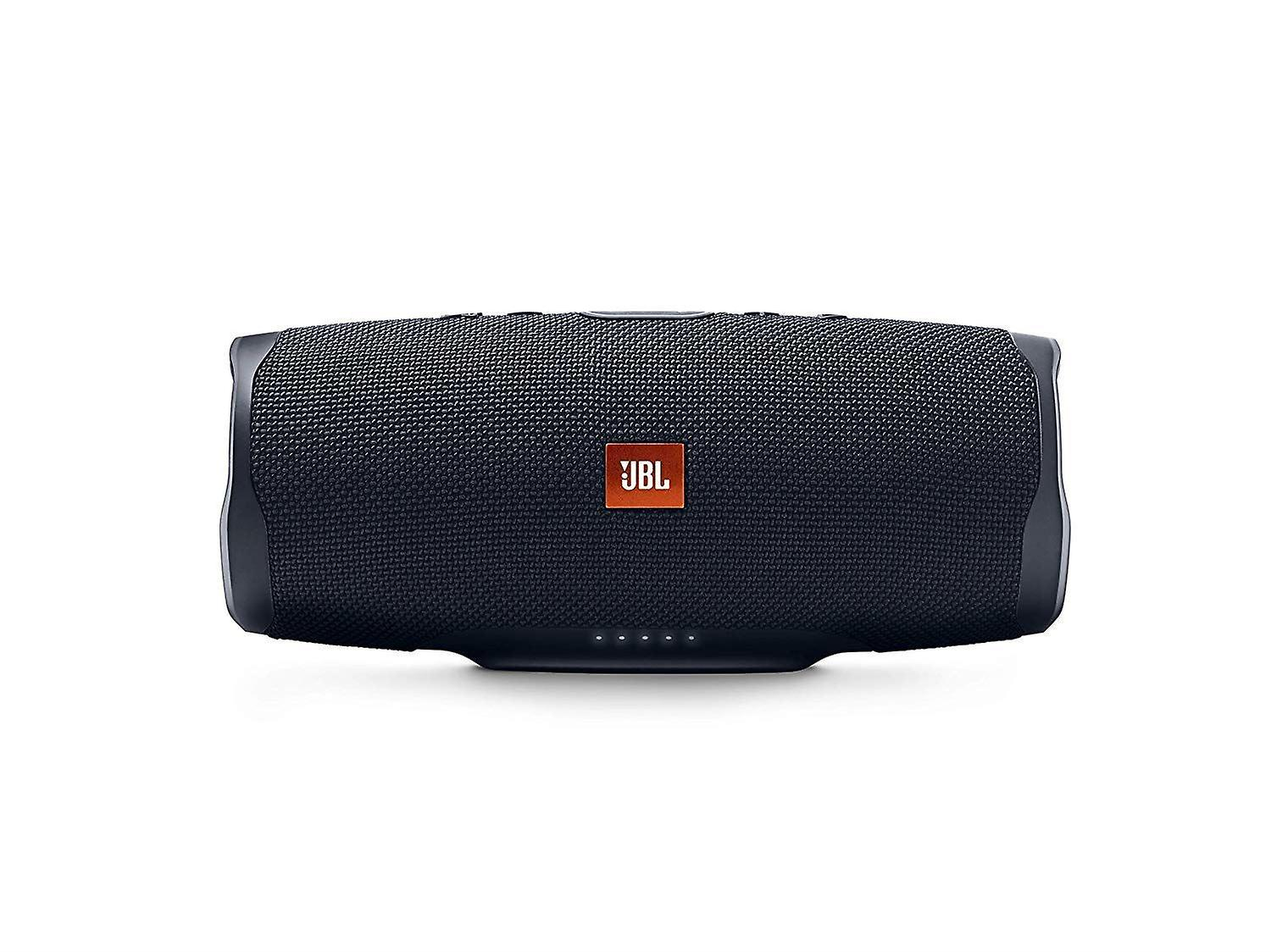 JBL Charge 4 Portable Bluetooth Speaker and Power Bank with Rechargeable Battery Waterproof Black