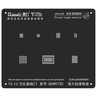 QianLi BGA Stencil Template - Power Logic Module - iPhone 6 - BMW730